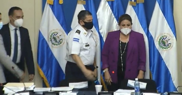 Inició proceso de antejuicio para desaforar a Mauricio Arriaza Chicas