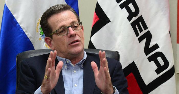 «Noé» confesó que pandilleros sostuvieron una llamada telefónica con Jorge Velado, expresidente del ARENA