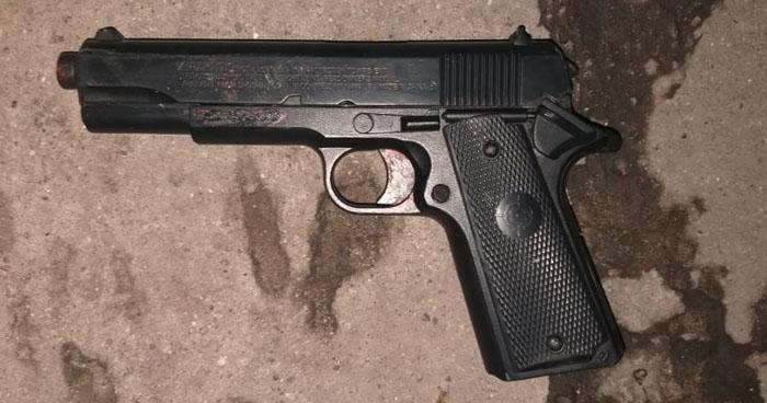 Capturan a pandilleros cuando asaltaban a usuarios de la ruta 41-A con un arma de juguete