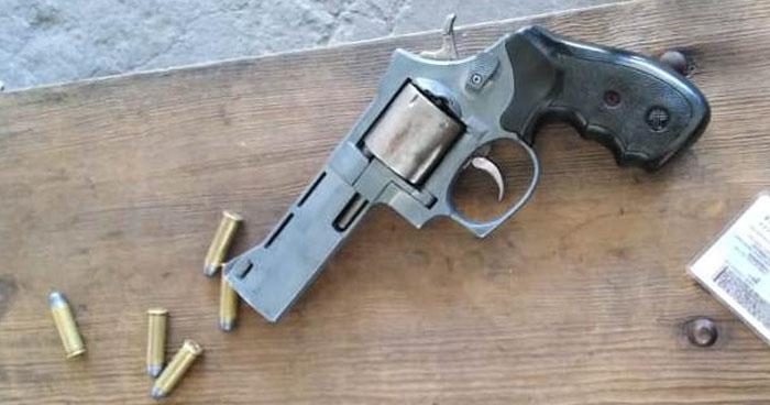 Capturan a vigilante por portar un arma de fuego sin permiso legal en San Salvador