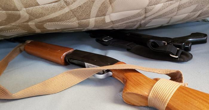 Abogada y su hijo capturados por uso de documentos falsos y tenencia ilegal de armas
