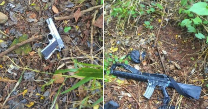 Capturan a pandilleros armados en Guatagiagua, Morazán