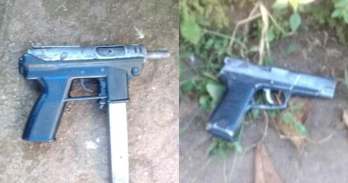 Incautan armas de fuego a sujetos que delinquían en colonias de Usulután