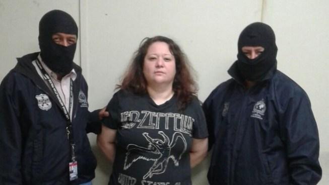 Interpol captura a mujer reclamada por la justicia salvadoreña