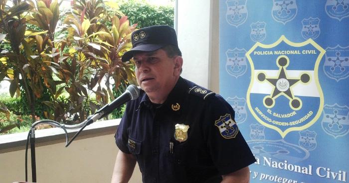 Comisionado Mauricio Arriaza Chicas nombrado nuevo Director de la PNC