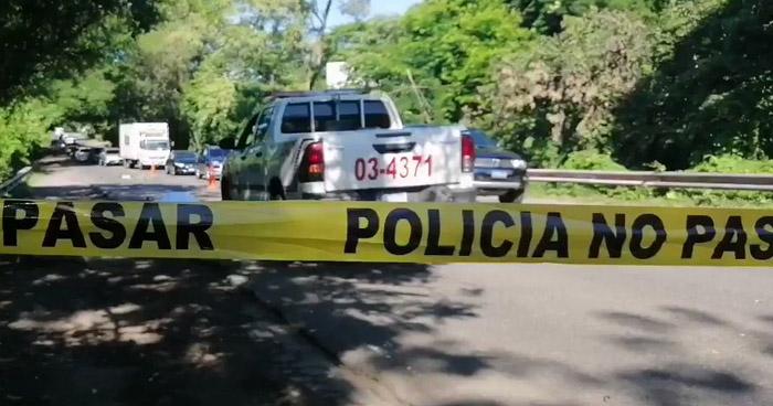 Hombre muere al ser arrollado por un automovilista en Moncagua, San Miguel