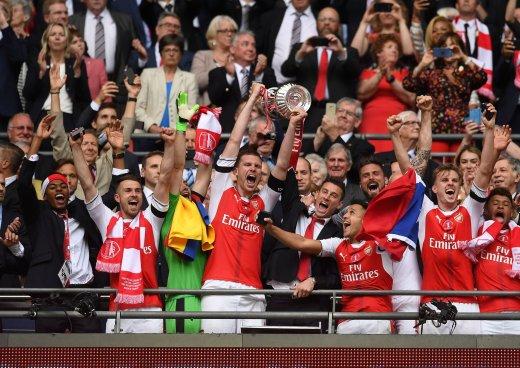 Arsenal Campeón de la FA Cup y Chelsea se queda sin el doblete