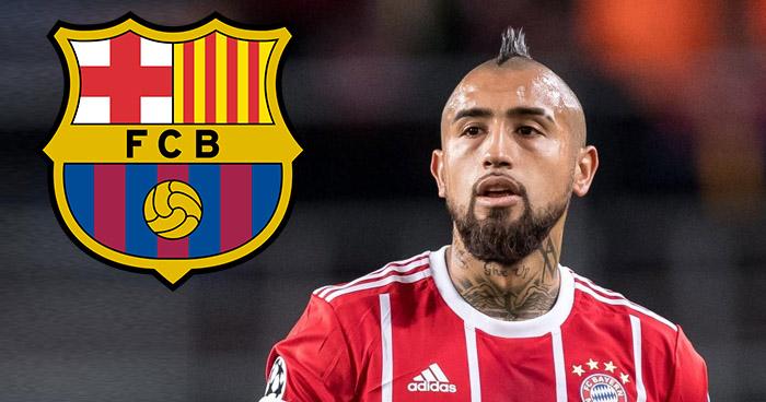 El Fc Barcelona ficha al chileno Arturo Vidal