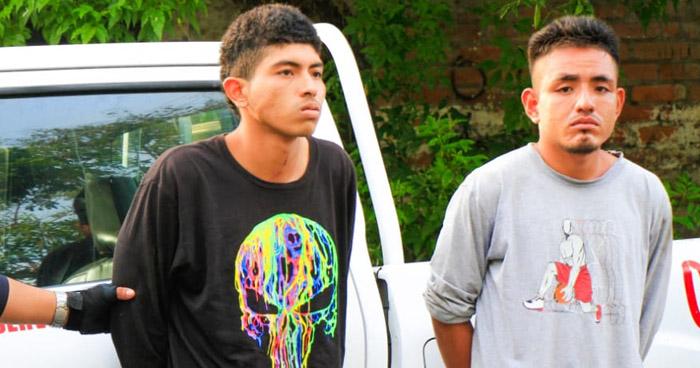 Capturados tras cometer un robo a mano armada en Apopa