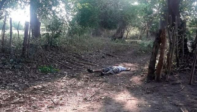 Asesinan a balazos a un hombre en Hacienda Astoria de San Luis Talpa, La Paz