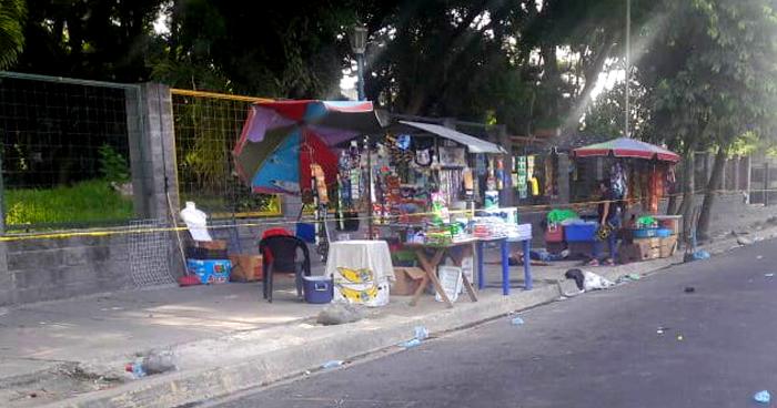 Vendedor asesinado a un costado del parque Infantil