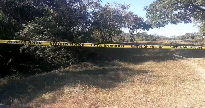 Halla el cadáver de un joven al interior de un terreno en Corinto, Morazán