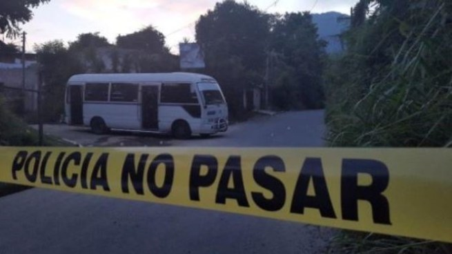 Acribillan a balazos a motorista de la Ruta 33-B en Mejicanos