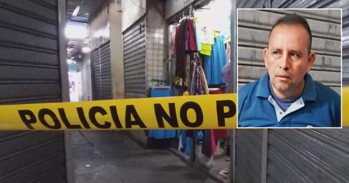 Capturado por asesinar a un hombre en mercado de San Salvador