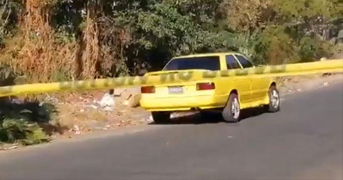Taxista Pirata fue asesinado en reparto Santa Lucía de Mejicanos