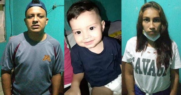 Capturan a pareja acusados de asesinar a niño de 1 año de edad