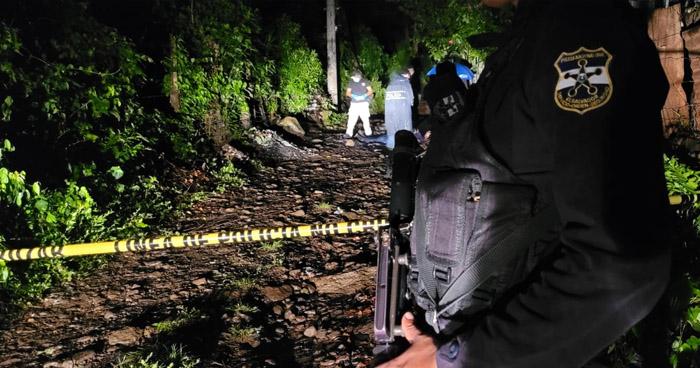 Emboscan y asesinan a miembro de la MS en Chiltiupán, La Libertad
