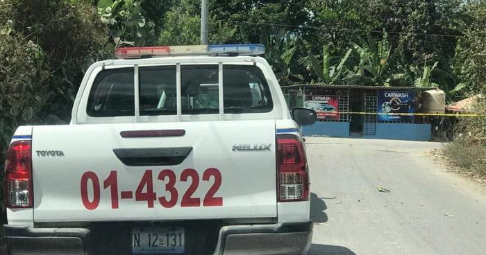 Asesinan a un hombre en Nejapa