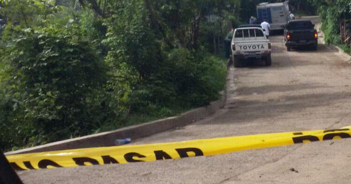 Asesinan a un hombre en Panchimalco, San Salvador