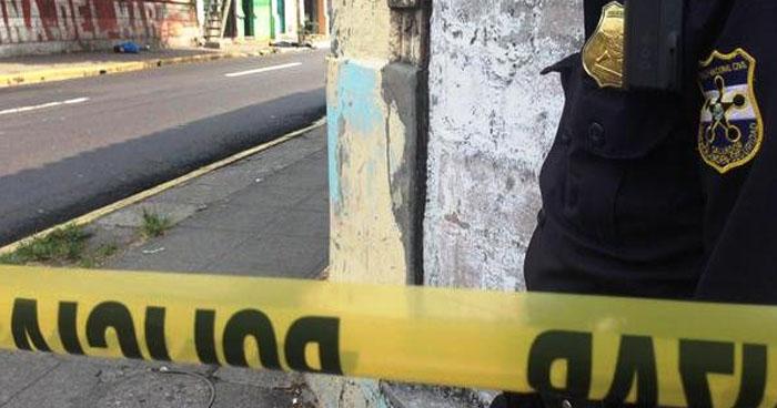 Asesinan a hombre en final de la calle 5 de Noviembre de San Martín