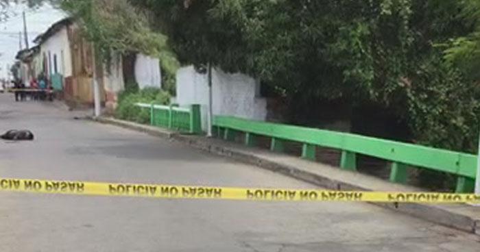Comerciante acribillado a balazos en la ciudad de Sonsonate