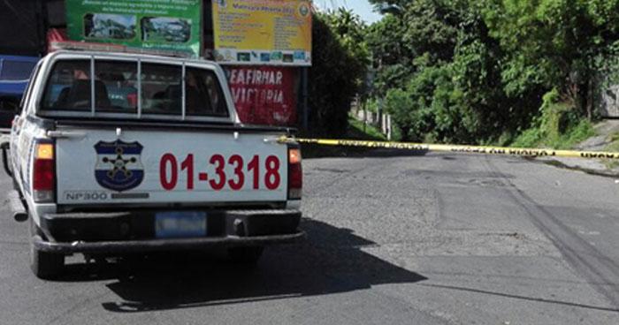 Vigilante asesinado cerca de un centro escolar en Cuscatlán