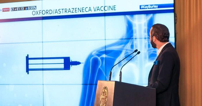 Mañana ingresa a El Salvador el primer lote vacunas contra el COVID-19