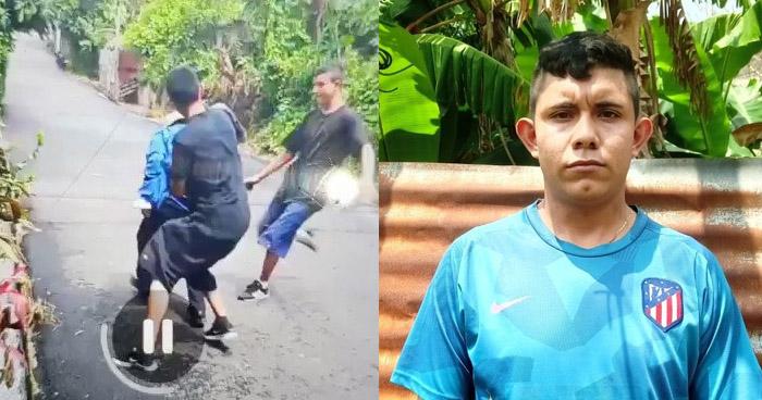 Capturan a uno de los pandilleros que agredió a anciano en La Libertad
