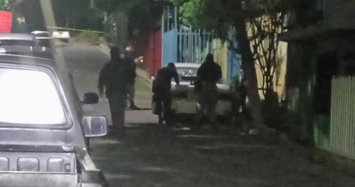 Un lesionado tras ataque armado en Colonia Dina, San Salvador