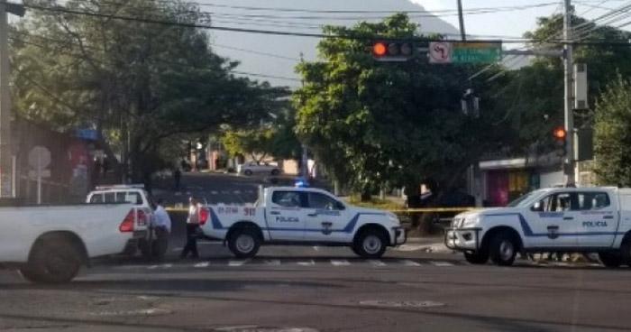 Un herido tras ataque armado cerca de reconocido centro comercial de San Salvador