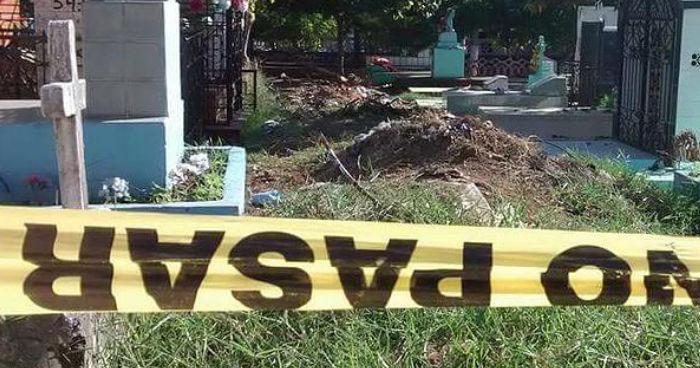 Atacan a pandillero cuando cavaba una tumba en el cementerio de San Agustín, Usulután