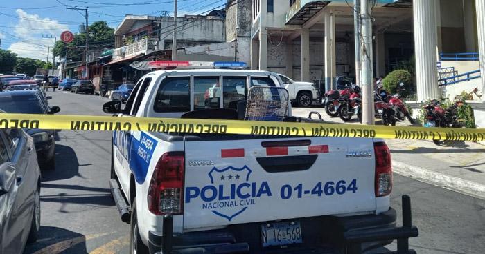 Dos muertos tras ataque armado en Cuscatancingo