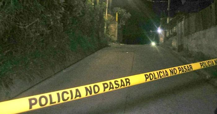 Ataque armado en colonia de Mejicanos dejó dos muertos y un lesionado