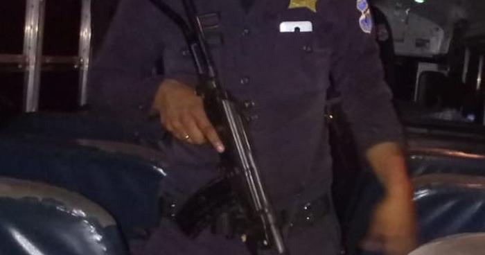 Policía herido de bala tras ataque de pandilleros en Meanguera, Morazán