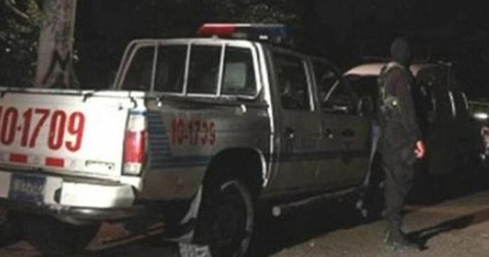 Tres lesionados tras un ataque armado sobre avenida de Santa Tecla