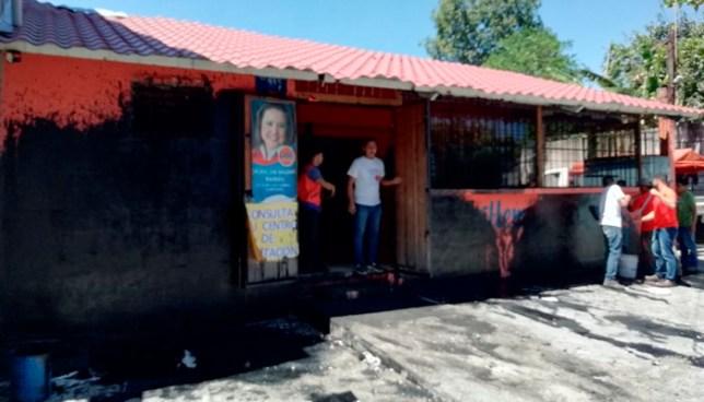 GANA responsabiliza a ARENA del ataque a sede de Ilopango