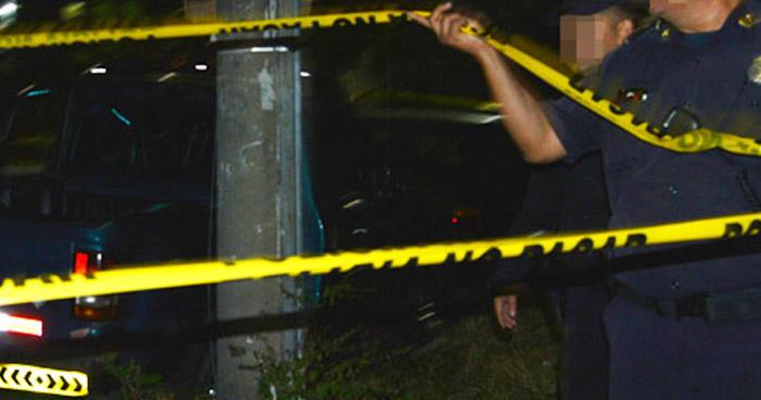Asesinan con un corvo a un hombre en barrio de Sonsonate