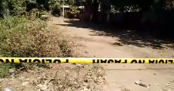 Un fallecido y un lesionado dejó ataque armado en colonia de Usulután