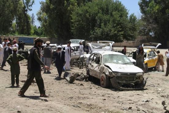 Al menos 13 muertos en atentado en Afganistán