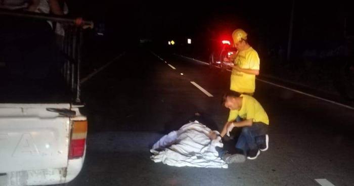 Hombre muere al ser atropellado sobre la carretera de Oro en San Martín