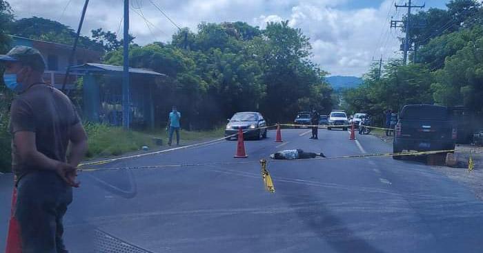 Hombre pierde la vida al ser atropellado en carretera Longitudinal del Norte