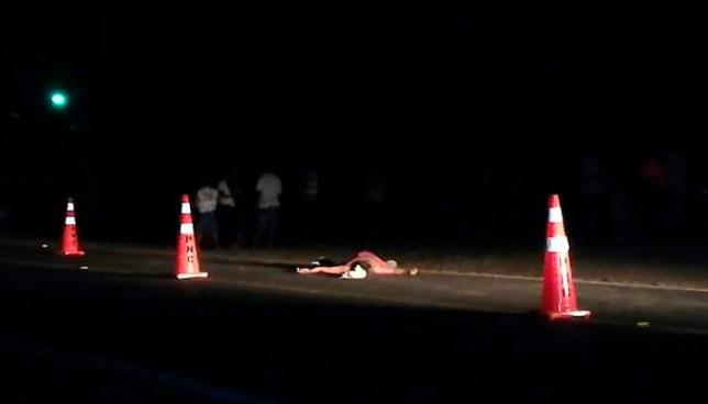 Hombre muere tras ser embestido por un vehículo sobre carretera en La Unión