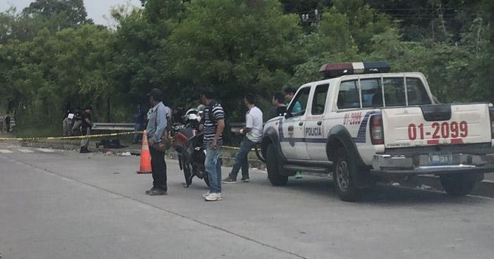 Persona muere tras ser atropellada en avenida Alberto Masferrer