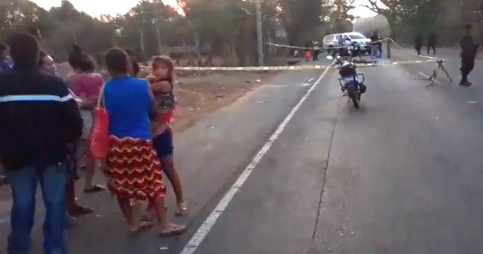 Ciclista y peatón mueren atropellados en diferentes puntos del país