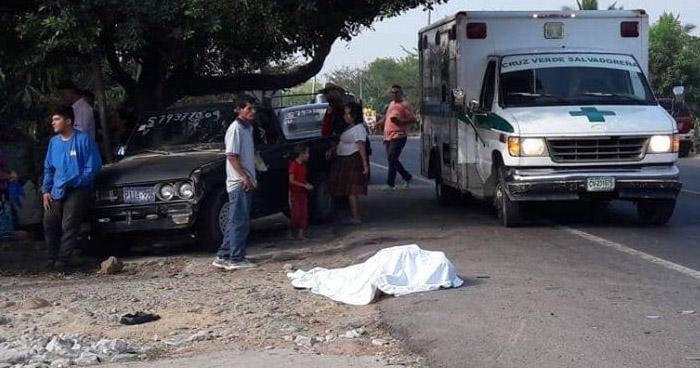 Hombre muere al ser atropellado en carretera Troncal del Norte
