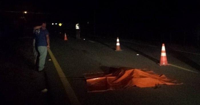 Un hombre murió al ser atropellado en carretera Litoral, La Paz