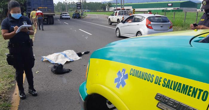 Anciano muere tras ser arrollado por camión de volteo