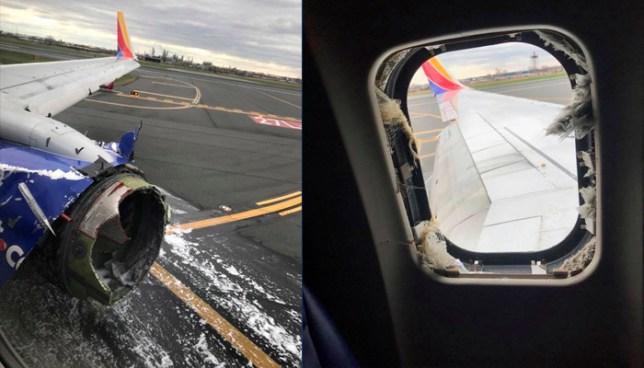 Un muerto, tras el aterrizaje de emergencia de un avión por falla de un motor en Filadelfia