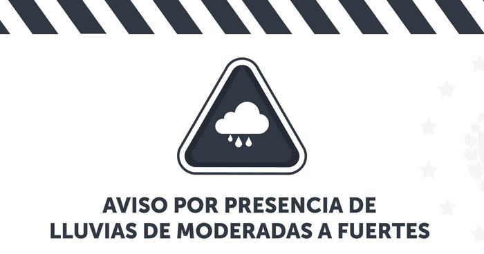 Protección Civil emite aviso por probabilidad de lluvias y tormentas eléctricas