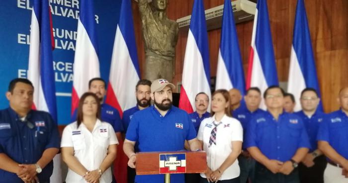 Gerardo Awad renuncia a ser candidato a presidente del partido ARENA